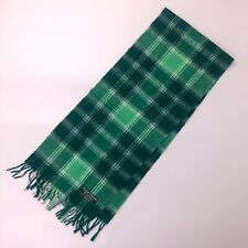 "New Men Unisex Green Irish Scottish Tartan WOOL Neck Scarf Stole 64"" x 12"""