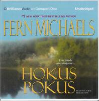 Fern Michaels Hokus Pokus 6CD Audio Book Unabridged Sisterhood Crime Thriller