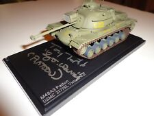 Tony Todd Autographed Platoon 1:72 M48 Patton Diecast Tank W/Inscription W/Proof