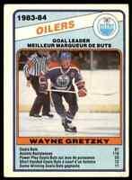 1984-85 O-Pee-Chee Team Leader Wayne Gretzky #357