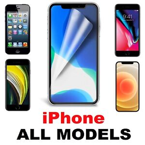 SCREEN PROTECTOR COVER GUARD HD FILMS For ALL Apple iPhone Models