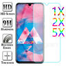 5X 2X 9H Tempered Glass Screen Protector For Samsung Galaxy A10 A20 A30 A40 A50