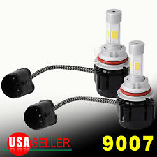 2pcs 9007 HB5 LED Headlight Kit 180W18000LM Hi/Lo Beam 6000K Xenon White Lights