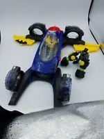 Fisher Price Imaginext DC Super Friends Batman 2015 transforming Batmobile plane