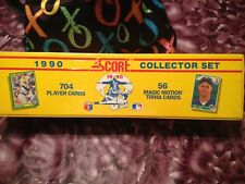 1990 Score MLB Collector Set 704 Baseball Cards + 56 Magic Motion Trivia Cards