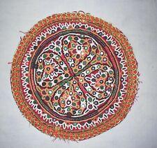 Hippie Indien Vintage Kutch Broderie Patch Aiguille Travail Patchs Pour Coussins