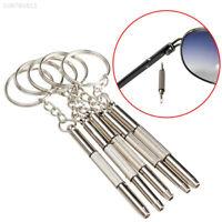 5pcs 3in1 Screwdriver Eyeglass Optical Eye Glasses Watch Repair Kit Hand Tool