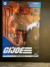 GI Joe Classified RED NINJA, Complete, Global Shipping