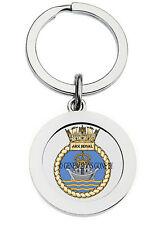 HMS ARK ROYAL KEY RING (METAL)