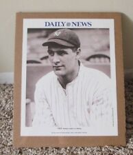 VINTAGE LOU GEHRIG B&W PHOTO SHRINK WRAPPED NEW YORK YANKEES DAILY NEWS 2004