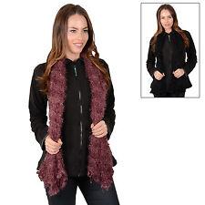 Polyester Patternless RJM Scarves & Shawls for Women