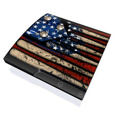 Skin Kit for PS3 SLIM Console ~ OLD GLORY by FP ~ Decal Sticker
