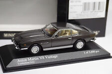 MINICHAMPS ASTON MARTIN V8 COUPE 1987 GREY METALLIC 1/43