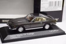 MINICHAMPS ASTON MARTIN V8 COUPE 1987 GREY METALLIC 1/43