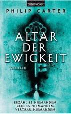 Philip Carter ALTAR DER EWIGKEIT Mystery Thriller Science Fiction