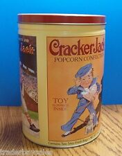 LARGE Limited Ediiton Collectible CRACKER JACK Barrel Tin B - 1991 - Excellent!