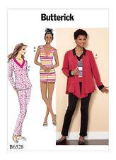 Butterick B6528 PATTERN Misses Jacket Top Shorts & Pants Sizes XSM-XXL New