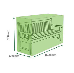 St Helens Home and Garden Water Resistant 3 Seater Bench Cover 162*90*66cm GH017