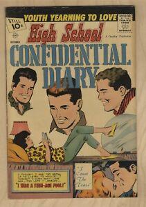 High School Confidential Diary #9 1961- Charlton Romance💐 FN+