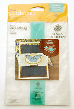 Cricut Cuttlebug Embossing Folder and Border - Anna Griffin Cane Paisley 2002790