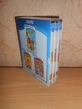 coffret 3 dvd dreamworks MADAGASCAR 1, 2 et 3 - sous blister