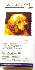 New listing Caron Puppy Love Latch Hook Kit Sealed WonderArt 426132 12x12 Size New in Box