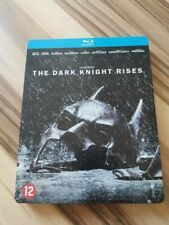 The Dark Knight Rises Limited Steelbook 2-Disc Blu-Ray with Exclusive Film Cell