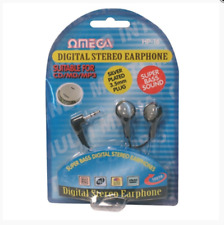 SUPER Bass DIGITAL STEREO AURICOLARI OMEGA PER MP3 CD 3.5mm Jack per Cuffie