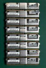 32GB 8X4GB HYNIX 2RX4 PC2-5300F-555-11 HYMP151F72CP4N3-Y5 AC-C Server Ram