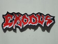 EXODUS THRASH METAL EMBROIDERED BACK PATCH