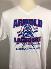 Arnold Classic V-neck T-shirt Xl Lacrosse Sports Festival / Workout Strongman