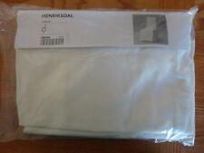 IKEA Henriksdal Blekinge Chair Slip Cover 100% Cotton Skirted 701.546.78 NIP