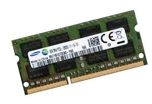 8GB DDR3L SO DIMM RAM 1600 Mhz M471B1G73DB0-YK0 PC3L-12800S Notebook 0x80CE 204p