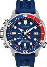 Authentic Citizen EcoDrive Men Promaster Aqualand Polyurethane Watch BN2038-01L