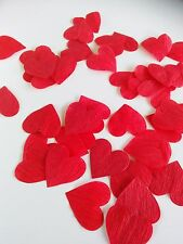 1000 pcs Papers HEARTS  Petals wedding flowers basket chic  Confetti Shabby