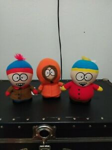 South Park Nanco Kenny, Stan & Cartman Plush Stuffed Toy 2008 Comedy Central