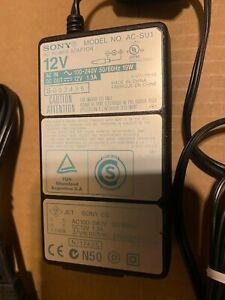 Genuine Sony AC-SU1 12V AC Adapter Power Supply For DSR-11 or PMW-EX1 EX1R EX30