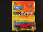 Ertl Cars Of The World 63 Corvette Stingray Red Toy Car Made In Hong Kong