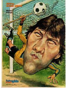 Walter Zenga Inter  del 1984 Caricatura di Walter Molino