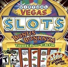 Virtual Vegas Slots Bonus Bonanza  over 4500 slots  Win XP Vista 7 8  Brand New