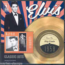 LIBERIA 2012 'ELVIS PRESLEY' KING CREOLE RECORD SOUVENIR SHEET MINT NH