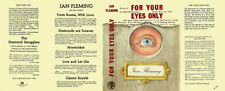 Fleming-Fac. DJ for 1st UK ed. of FOR YOUR EYES ONLY
