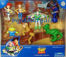 New Disney Parks Toy Story Buzz Woody Jessie Aliens Cake Topper Figure Playset