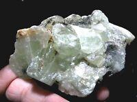 Cristales de fluorita 244 grs - COLOMBIA