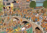 King's Day Jan van Haasteren 1000 Piece JVH Jigsaw Puzzle by Jumbo