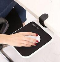 Mouse Platform Clamp On Under Desk Adjustable Keyboard/Mouse Tray