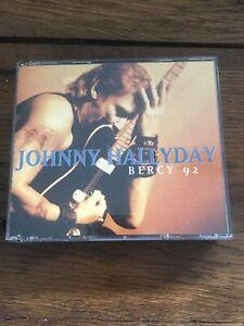 CD JOHNNY HALLYDAY  BERCY 92 / COFFRET 2 CD 21 TITRES
