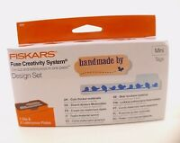 Fiskars No. 0245 Design Set Fusibile Creativity System Uccelli Birds Nuovo