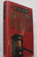 Law Legal Fiction Courtroom Presumption Of Guilt Herb Brown Ohio Signed 1st 1991