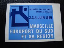 FRANCE - carte 4/6/1966 (journees economiques internationales) (cy97) french (R)